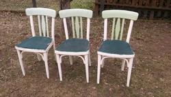 Nagyon bájos antik jelzett THONET  szék felújításra eladó - 3 db -5990 ft/db áron