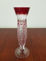 Ajka kristály üveg váza