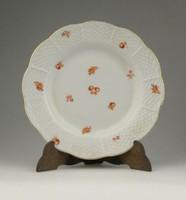 0R073 Régi Herendi porcelán kistányér 14.5 cm