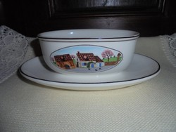Villeroy-Boch porcelán szószos tálka
