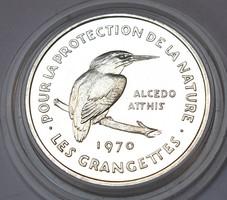 Természetvédelmi ezüst emlékérme 1970