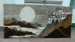 SUBA  kárpit - falikárpit : Naplemente ( Tájkép) 112cm!