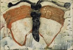Magyar művész 1960 körül : Pillangó