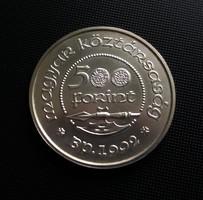 Gyönyörű ezüst 500 Forint, 1992, 28 g.