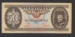 50 forint 1951. Tökéletes UNC!!