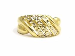 Arany metszett gyűrű (Kecs-Au67242)