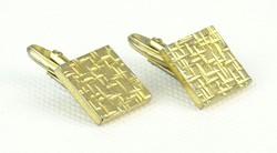 0Q634 Retro aranyszínű mandzsetta pár