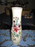 Zsolnay orchidea mintás váza, 26 cm