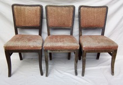 Antik szék 3 db