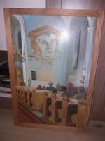 Akció! 2/3! Csonka János: Protestáns templom, 43x63
