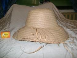 Könnyű nyári kalap, szalma kalap
