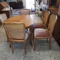 Warrings nagyobbitható étkezóasztal 5 székkel eladó.