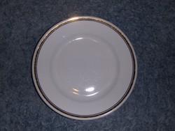 Zsolnay porcelán arany szélű kistányér 18 cm (s)