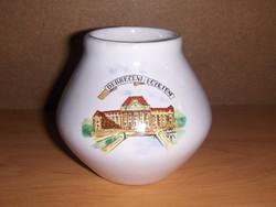 Bodrogkeresztúri kerámia váza Debreceni Egyetem (24/d)