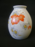 Retró Zsolnay váza, ritka ducos