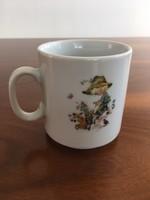 Hibátlan Seltmann Weiden vintage, retro porcelán bögre