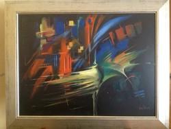 Walter Gábor Különleges, egyedi festménye