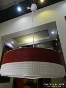 Fa mintázatú műanyag rerto lámpa
