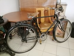 Veterán férfi kerékpár