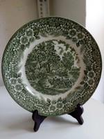 Constable Bicentenar 1776-1976,Broadhurst,Staffordshire,zöld mintás tál-24 cm