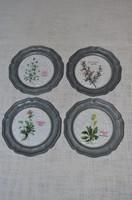 4 db ón kis tányér / fali tányér angyalkás jelzéssel