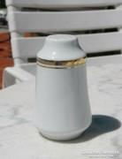 Aranyszegélyes klasszikus porcelán asztali fűszeres - sószóró