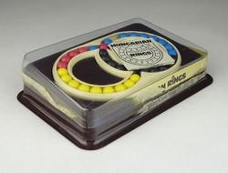 0R342 Bűvös gyűrű retro logikai játék