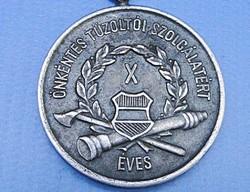 1958 / Önkéntes Tűzoltó Kitüntetés