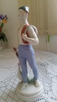 Ludas  Matyi porcelán figura eladó!Porcelán szobor eladó!