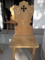 Tölgyfa asztal + 10 db szék  eladó.