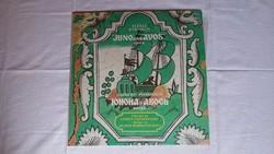 Juno és Avos orosz rockopera bakelit lemez / hanglemez - 1982. / USSR