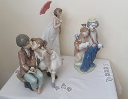 Lladro porcelán figurák