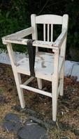 Eredeti VINTAGE szecessziós ritka gyermek etető szék