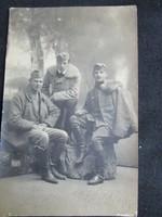 FOTÓ FOTÓGRÁFIA FÉNYKÉP KATONA BAKA I. VILÁGHÁBORÚ cca 1914