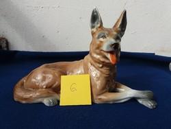 B&B porcelán kutya