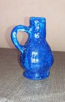 Kézműves kerámia váza kancsó