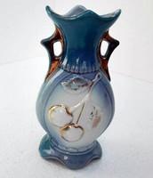 Szecessziós kis ibolya váza