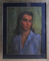 Ismeretlen művész: Női portré