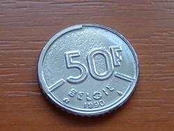 BELGIUM BELGIE 50 FRANK 1990