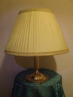 Retro fém háromágú asztali lámpa