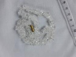 Hegyikristály nyaklánc