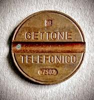 Telefon token Olaszország