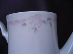 Halvány rózsás teáskancsó