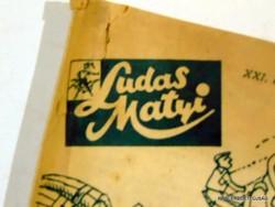 1973 január 25  /  LUDAS MATYI  /  SZÜLETÉSNAPRA RÉGI EREDETI ÚJSÁG Szs.:  4338