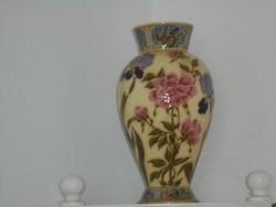 ZSOLNAY körpecsétes váza 1880-ból