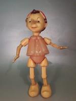 Pinocchio Orosz Pinokkió műanyag figura baba
