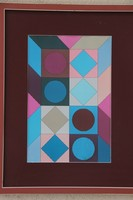Victor Vasarely - Kompozíció