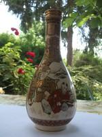 Antik kézi festésű kínai váza különlegesség