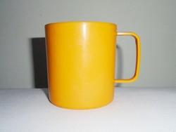 Retro műanyag pohár bögre csésze - DBP Plastics Antwerp - 1980-as évekből