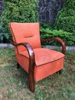 Art deco retro fotel 1950-es évekből